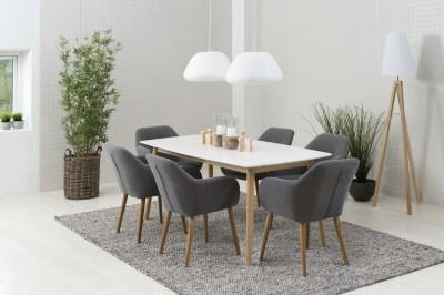 Stílusos szék Nashira - sötétszürke