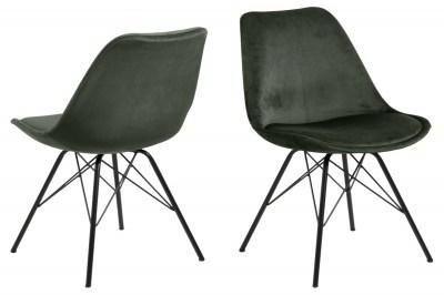 Ízléses szék Nasia - erdei zöld