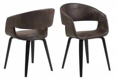 Ízléses szék Nere - barna