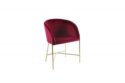 Ízléses fotel Alliser - bordó