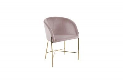 Ízléses fotel Alliser - rózsaszín