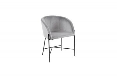 Ízléses fotel Alliser - szürke