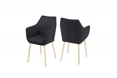 Stílusos fotel Almond II - antracit