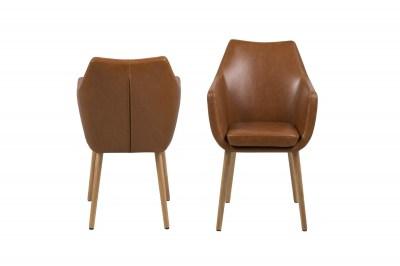 Stílusos fotel Almond II - konyak