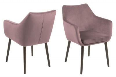 Ízléses fotel Almond - rózsaszín