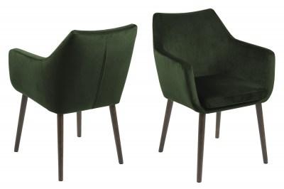 Ízléses fotel Almond - zöld
