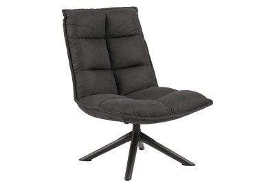 Stílusos fotel Nanette - antracit