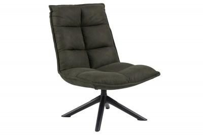 Stílusos fotel Nanette - oliva zöld