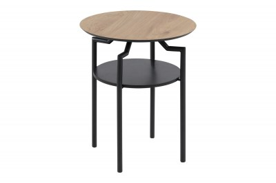 Ízléses oldalsó asztal Aitor - vad tölgy