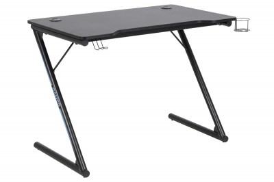 Stílusos íróasztal Naretha 100 cm - fekete