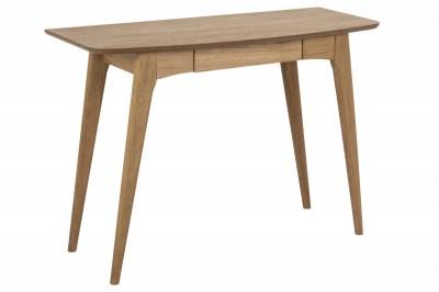 Stílusos íróasztal Narnia 105 cm - olajozott tölgy