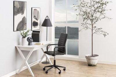 Stílusos íróasztal Naroa 120 cm - fehér
