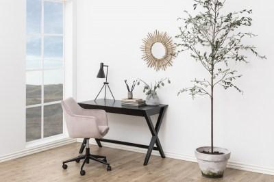 Stílusos íróasztal Naroa 120 cm - fekete