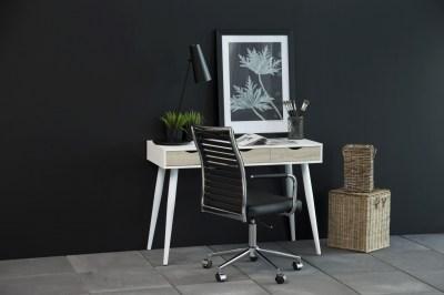 Stílusos íróasztal Nature 110 cm fehér tölgy