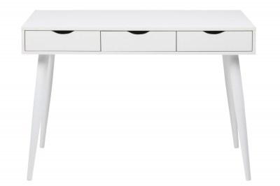 Stílusos íróasztal Nature 110 cm fehér