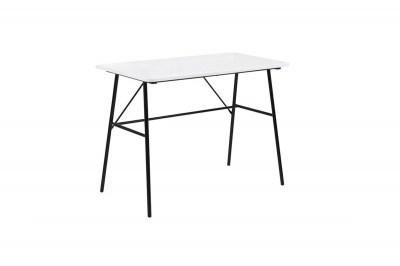 Stílusos íróasztal Nava 100 cm - fehér 2