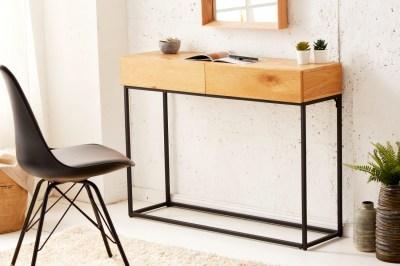 Stílusos fésülködő asztal Factor 100 cm tölgyfa
