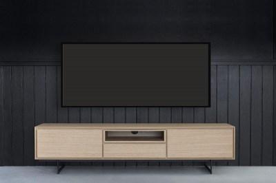 TV asztal Aage - tölgy