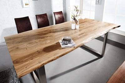 Étkezőasztal Massive Honey 160 cm - asztallap 35 mm - akácia