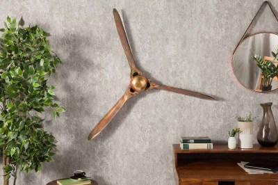 Fali dekoráció Wade 90 cm réz