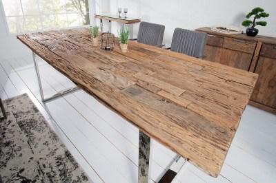 Luxus étkezőasztal masszívból Shark 200 cm