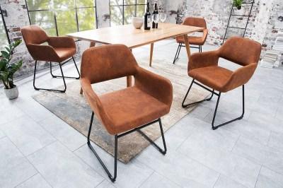 Stílusos szék Derrick Antik barna