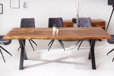 Stílusos étkezőasztal Argentinas X 220 cm sheesham