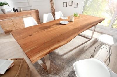 Luxus étkezőasztal Massive II New 200 cm masszív akácfából
