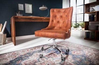 Irodai szék Jett vintage világosbarna