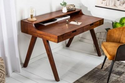Stílusos íróasztal Freddo 100 cm akácia