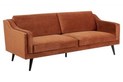Háromszemélyes kanapé Isis 206 cm réz