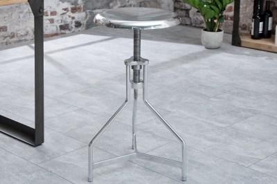 Stílusos forgó szék Industry / ezüst