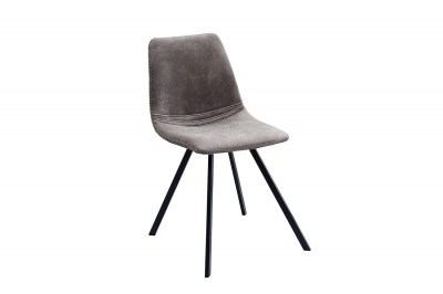 Dizajnová stolička Rotterdam Retro / sivo-hnedá
