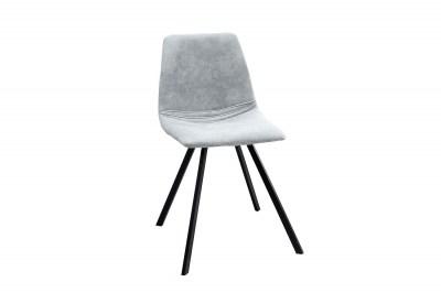 Dizajnová stolička Rotterdam Retro / sivá
