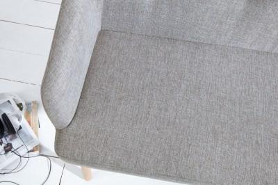 Dizajnová lavica Sweden svetlo sivá