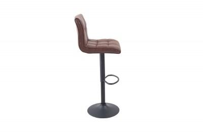 Barová stolička Modern 95-115 cm / vintage hnedá