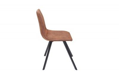Dizajnová stolička Rotterdam Retro / svetlo hnedá