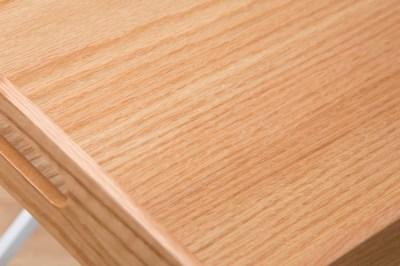 Odkladací stolík Veronica / prírodná - biela