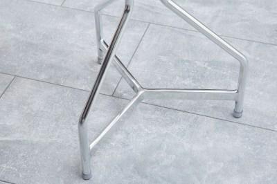 Dizajnová otočná stolička Industry / strieborná