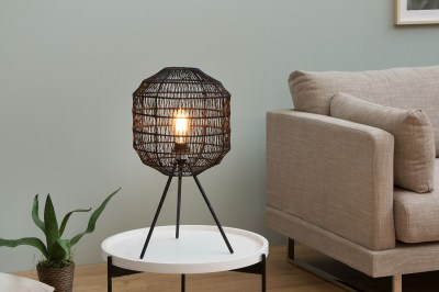 Asztali lámpa Hash / fekete