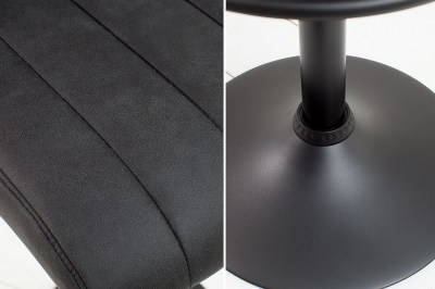 Barová stolička Pretty vintage sivá / 109 cm