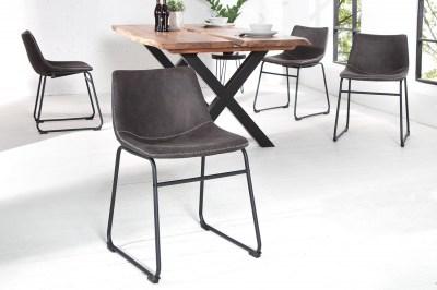 Stílusos szék Alba / vintage szürke