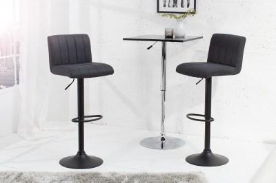 Bár szék Pretty vintage szürke / 88-109 cm