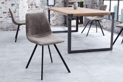 Stílusos szék Rotterdam Retro / szürkés barna