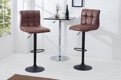 Bár szék Modern 95-115 cm / vintage barna