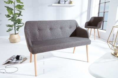Stílusos ülőpad Sweden sötét szürke