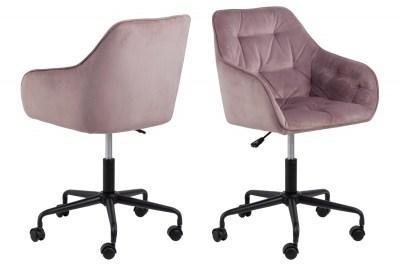 Irodai szék Alarik rózsaszín