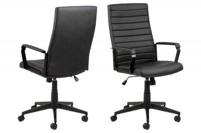 Irodai szék Triston fekete műbőr