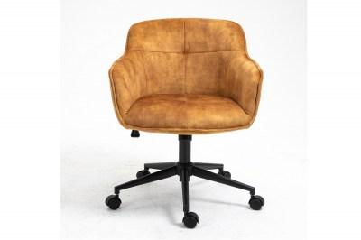 Irodai szék Natasha mustársárga