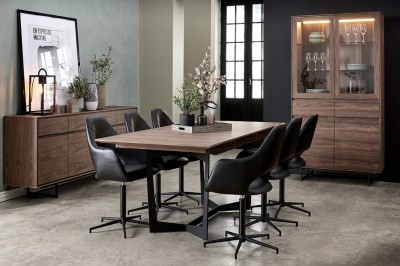 Étkezőasztal hosszabbítható Aage 200-250 dió